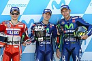MotoGP Aragon MotoGP: Vinales takes pole as Marquez crashes