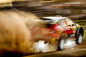 WRC Важливі новини Галерея: суміш гравію та асфальту на Ралі Іспанія