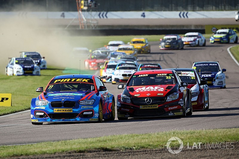 Rockingham BTCC: Jordan triumphs in final race