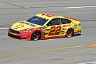 NASCAR Cup Joey Logano passes Bowyer to win Stage 2 at Richmond