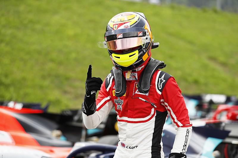 GP3 у Шпільберзі: перший поул Ілотта