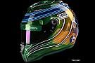GALERÍA: el último casco de F1 de Felipe Massa