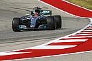 2017 Amerika GP 3. antrenman: Hamilton 0.092 saniye farkla lider!