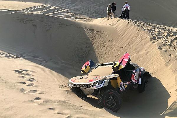Dakar 2018, 5. Etap: Peterhansel farkı açtı, Loeb yarış dışı