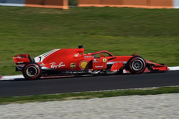 Fórmula 1 Raikkonen conclui pré-temporada da F1 na frente