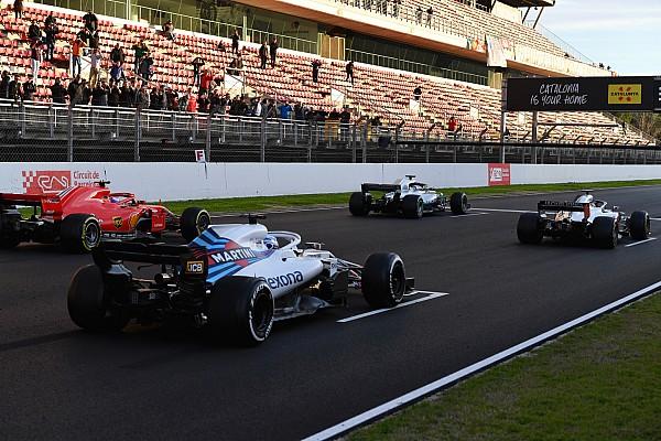 Así sería el orden de la parrilla de F1 con los tiempos de los test