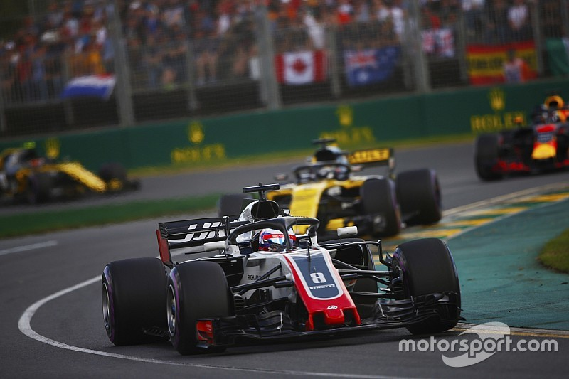 Grosjean: a Renault-nak a jövőben is félnie kellene a Haastól