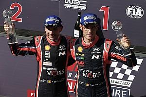 WRC Curiosità Neuville il più vincente del 2017 ma senza titolo: non capitava dal 2001!