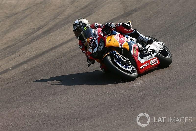 Honda stand-in O'Halloran hospitalised after Race 1 crash