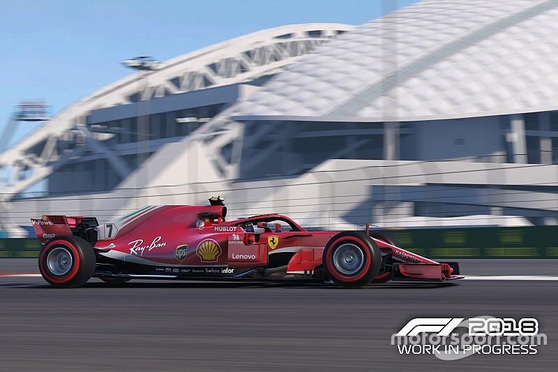 Дымка на трассе и эффект миража: как изменились графика и звук в игре F1 2018