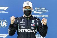 Avusturya GP: Pole pozisyonu tur rekoruyla Bottas'ın, Mercedes 1-2!
