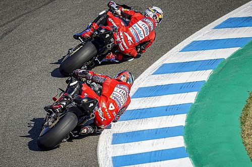 Michelin : Ceux qui n'ont pas rodé les pneus à Jerez ont fait erreur