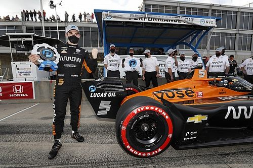 Barber IndyCar: O'Ward beats Rossi to pole