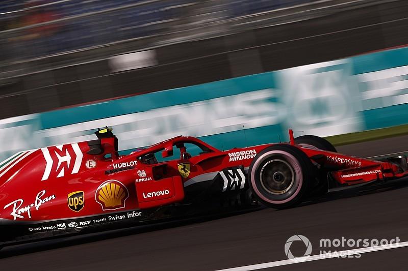 フェラーリ、メキシコも旧仕様フロア使用。ベッテル「タイヤが鍵になる」