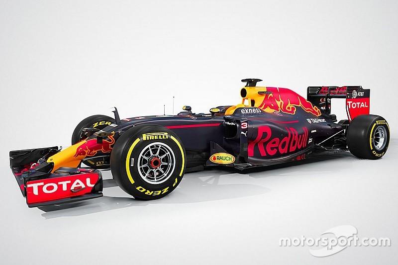 Red Bull Racing stellt den RB12 für die Formel-1-Saison 2016 vor