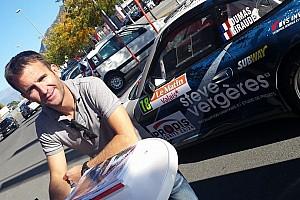 Romain Dumas, la star al via del Rally del Vallese