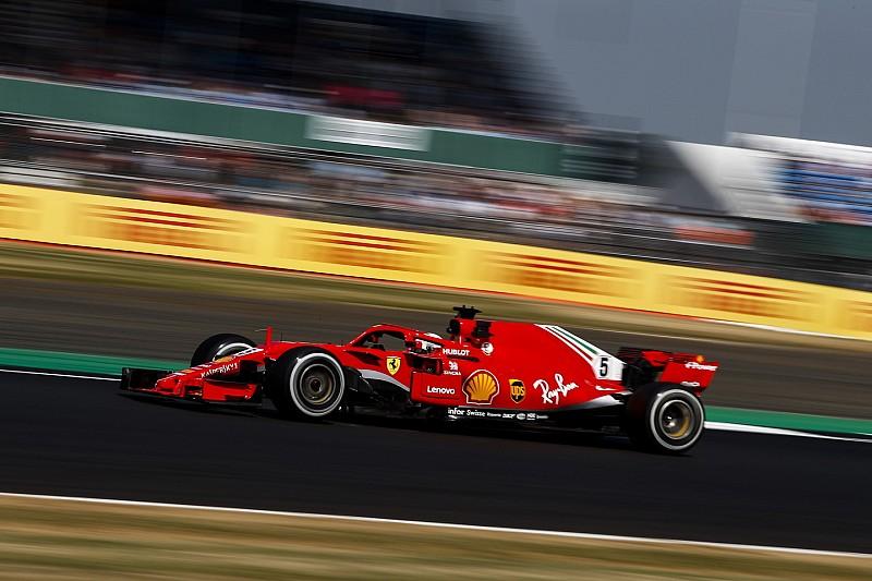 Formel 1 Silverstone 2018: Vettel zieht an Mercedes vorbei
