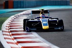 GP3 Crónica de test Habsburg, el más rápido en el último día de test de la GP3 en Abu Dhabi