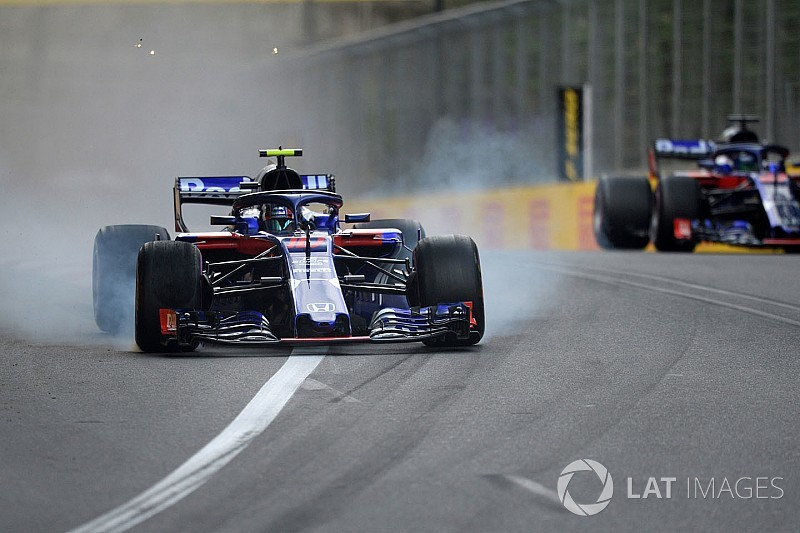 Gasly: Hartley near miss