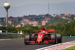 匈牙利大奖赛FP2:维特尔领先维斯塔潘居首