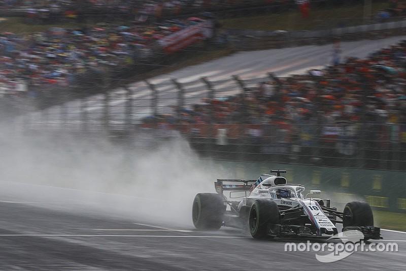 Stroll start Hongaarse Grand Prix vanuit pitstraat