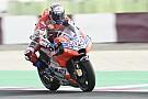 Dovizioso el más rápido, Rossi en noveno