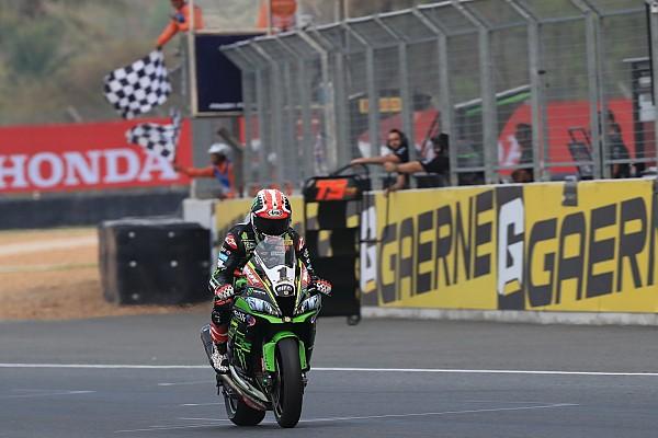 Superbike-WM Qualifyingbericht WSBK Thailand: Jonathan Rea auf Pole, Marco Melandri stürzt