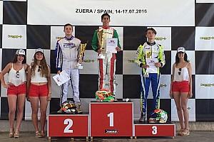 Karting Son dakika Berkay Besler Avrupa şampiyonu oldu!