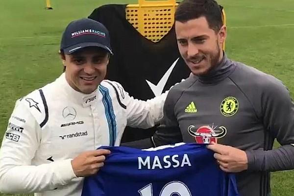 F1 Blog VIDEO: Felipe Massa y Eden Hazard compiten en Inglaterra