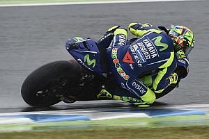 VIDEO: Rossi terjatuh dan tersingkir dari balapan Motegi