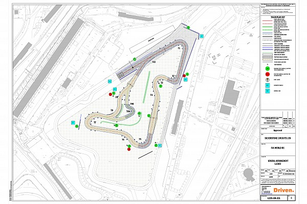 World Rallycross Silverstone reveals 2018 World Rallycross track layout