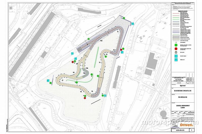 silverstone reveals 2018 world rallycross track layout