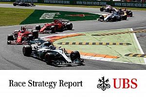 Formel 1 Feature James Allen: UBS-Rennstrategie-Report für F1 in Monza