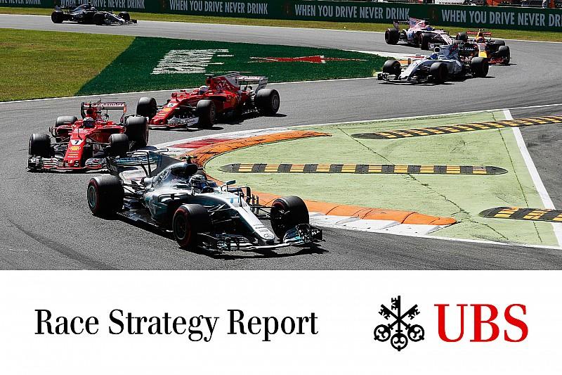 James Allen on F1: UBS Race Strategy Report - Monza