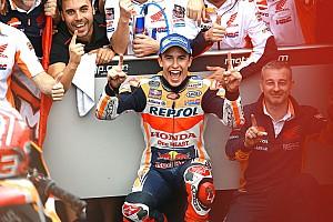 MotoGP Новость Маркес: Я собирался финишировать вторым, но потом решил атаковать