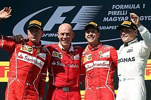 Formula 1 Race report Hungarian GP: Vettel scores anxious win in hobbled Ferrari