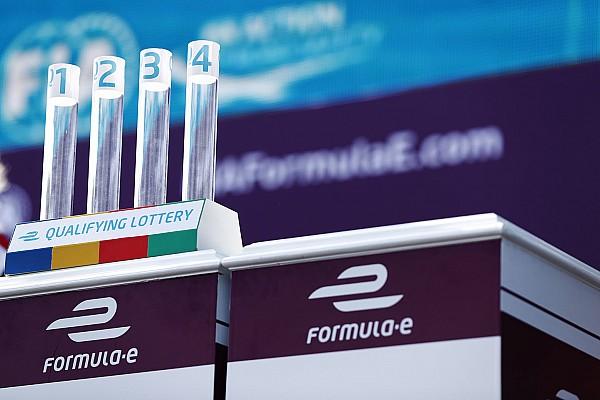La Formule E a failli abandonner la loterie des qualifications