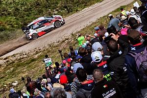 WRC レグ・レポート 【WRC】ポルトガル3日目:オジェ首位に躍り出る。トヨタは7&9番手