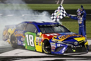 NASCAR Cup Race report Kyle Busch earns first NASCAR All-Star Race win