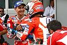 """Lorenzo: """"No tengo palabras para definir lo que está haciendo Dovizioso"""""""