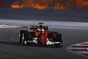 Formel 1 Trainingsbericht Formel 1 2017 in Bahrain: Ferrari-Fahrer Sebastian Vettel dominiert Training