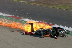 World Superbike Noticias Un duro accidente dejó a Tom Sykes fuera del WorldSBK en Portugal