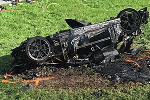 Річард Хаммонд потрапив у лікарню після аварії у гонці