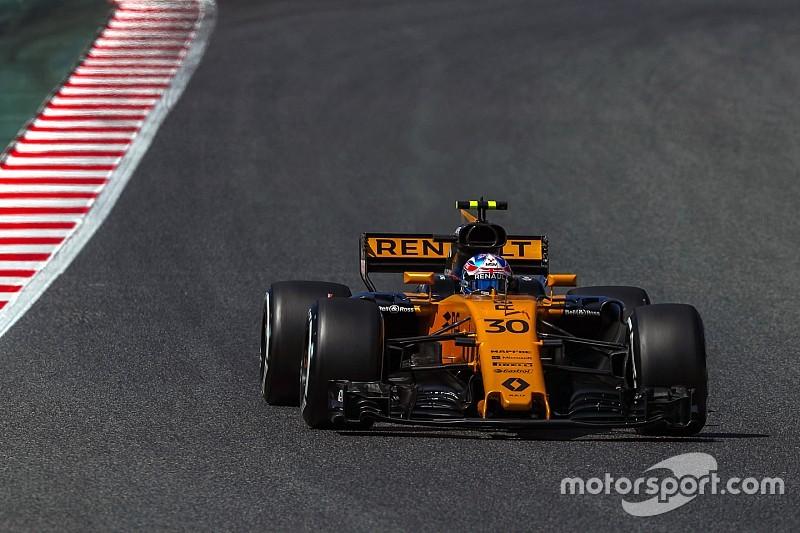 轮胎研发测试在巴塞罗那进行,拉蒂菲将首驾F1赛车