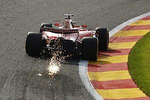 Forma-1 BRÉKING Räikkönen nyerte az első edzést Belgiumban Hamilton és Vettel előtt: Massa nagyot csattant