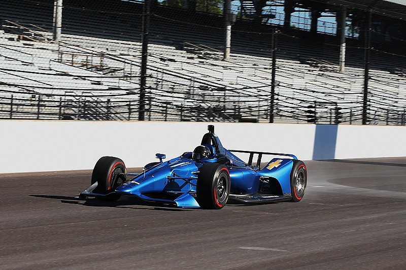 2018 chevrolet race car.  2018 new indycar design for 2018 hits the track at indianapolis to chevrolet race car
