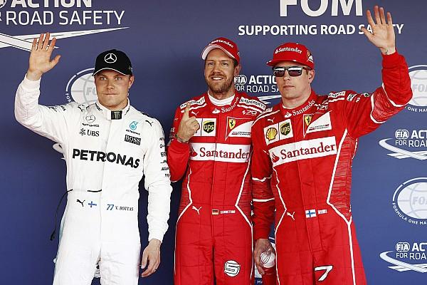 F1 速報ニュース 【F1】ロシアGP予選:接戦制しベッテルPP。フェラーリ久々1−2