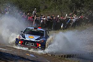 WRC Отчет о секции Невилль сократил отставание от Эванса на Ралли Аргентина