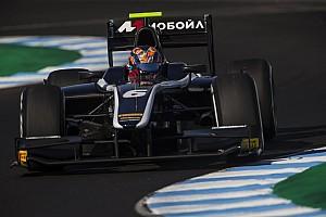 FIA F2 Отчет о гонке Маркелов выиграл вторую гонку Ф2 в Хересе