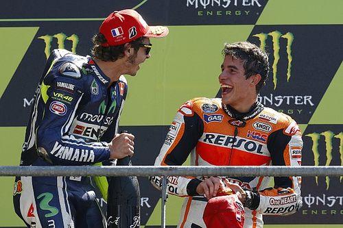 """Marquez: """"Wat Rossi heeft betekend voor de MotoGP is uniek"""""""